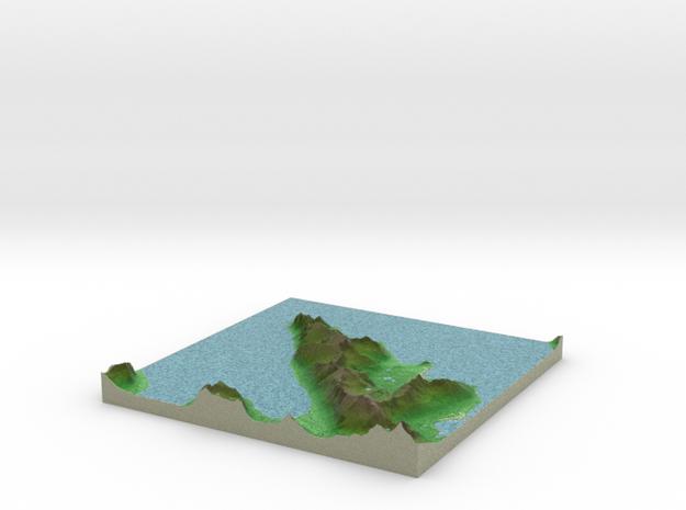Terrafab generated model Fri Jan 10 2014 23:48:33 3d printed