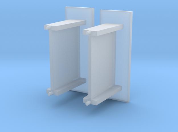 Kleine abri beton schaal N 3d printed