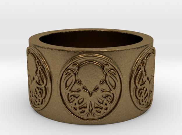 Ph'nglui mglw'nafh Cthulhu R'lyeh Ring #2, Size 10