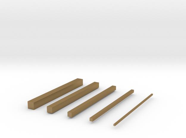 thin bars 3d printed