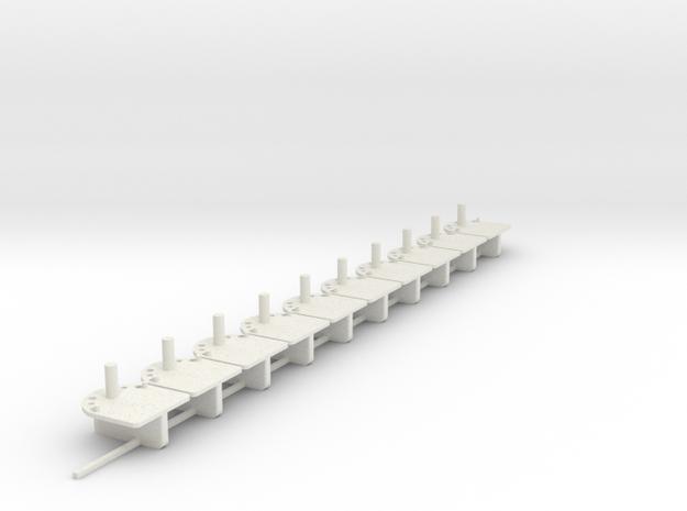 10xMiniGuide in White Natural Versatile Plastic