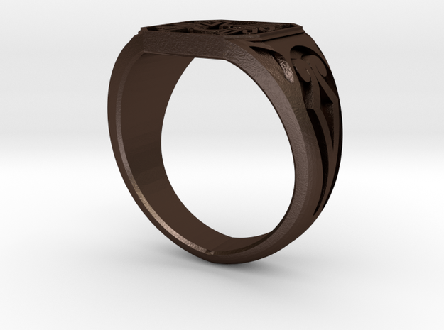 Spider Ring Size 11 3d printed