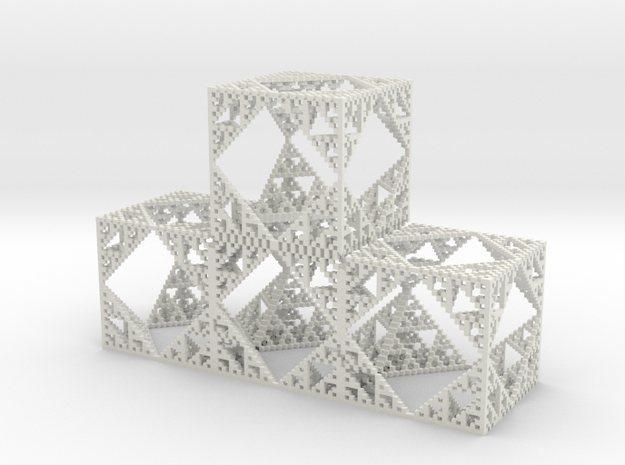 betaholey cubes stacked 3d printed