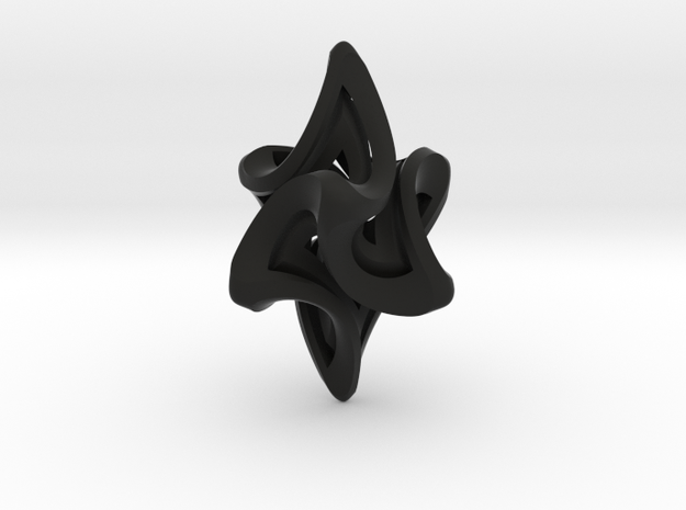 Flame Alpha Pendant 3d printed