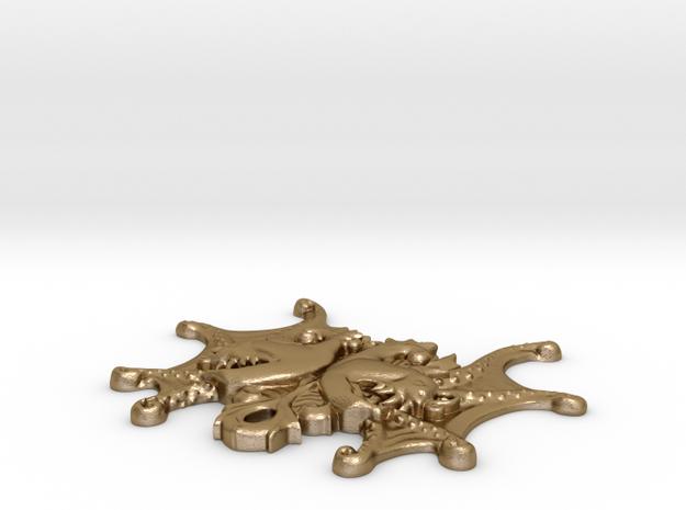 Anglerfish Angel (pendant) 3d printed