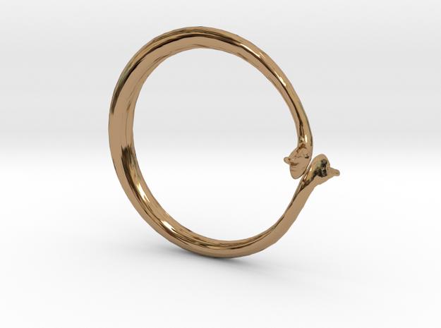 Cygnus Olor Swan Ring 3d printed