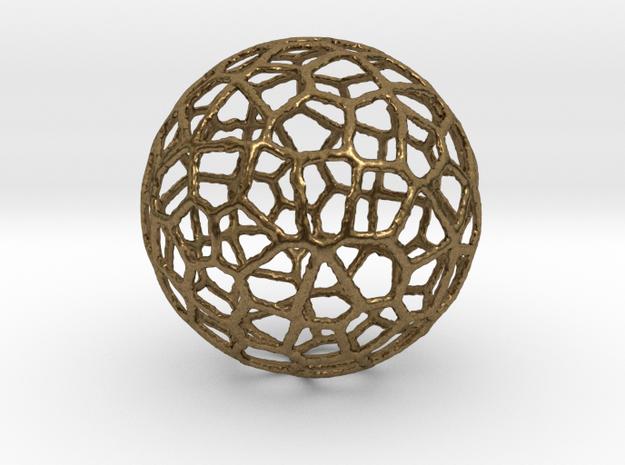 Alien Sphere Small (3cm) in Natural Bronze