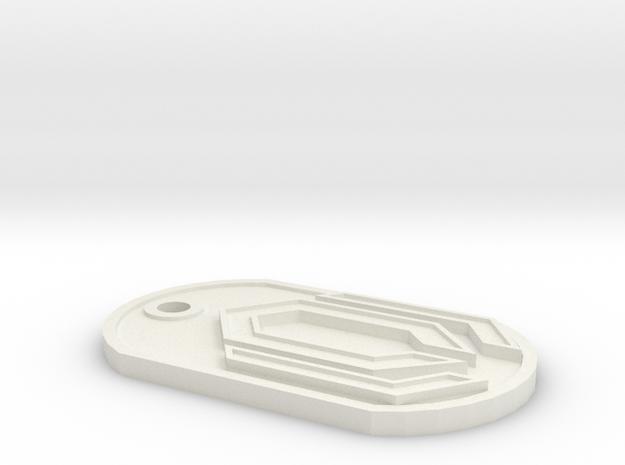 GeekTag: Cerberus 3d printed