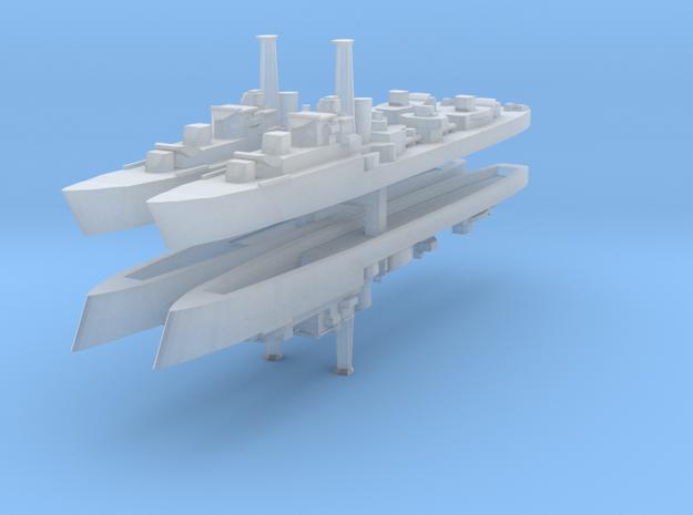 HMS Caesar (1944) (Ca-Class) 1:2400 x4 3d printed