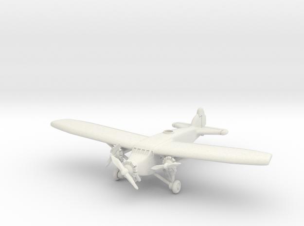 Caproni Ca.101 1/285 6mm in White Natural Versatile Plastic