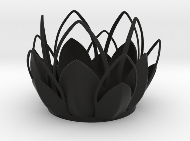 Tea-light - Flower 3d printed