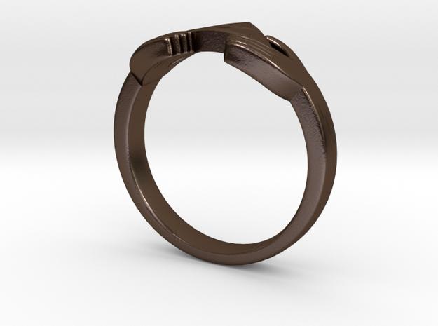 Triforce Zelda Ring Size German 18 3d printed