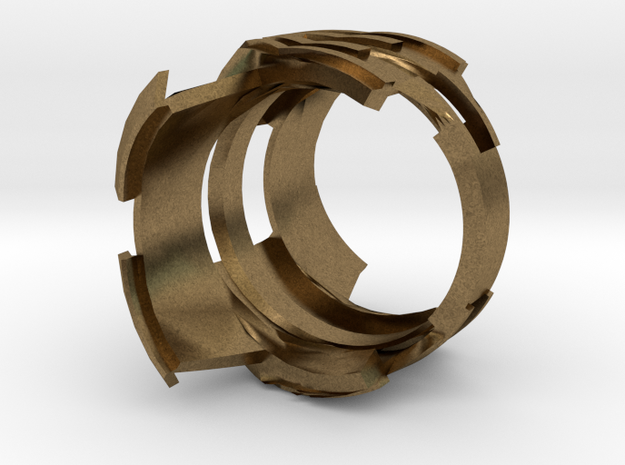 Ring Experiment Two 3d printed