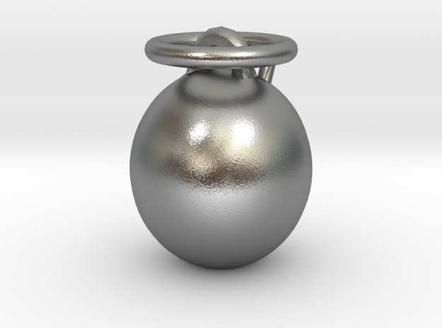 Angel Bauble (Personalize) 3D printed 3d printed