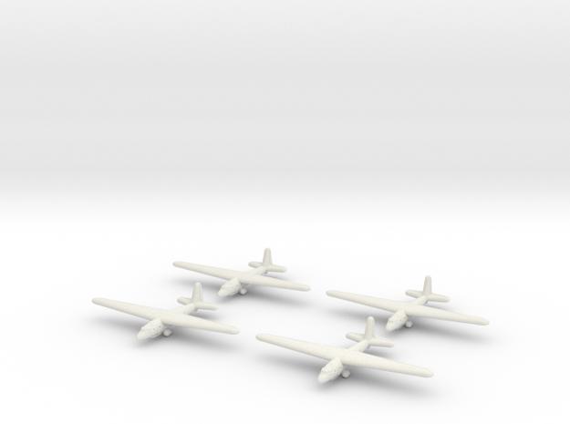 Aeronautica Lombarda AL-12P-1/1600 Scale (Qty.4) ( in White Strong & Flexible