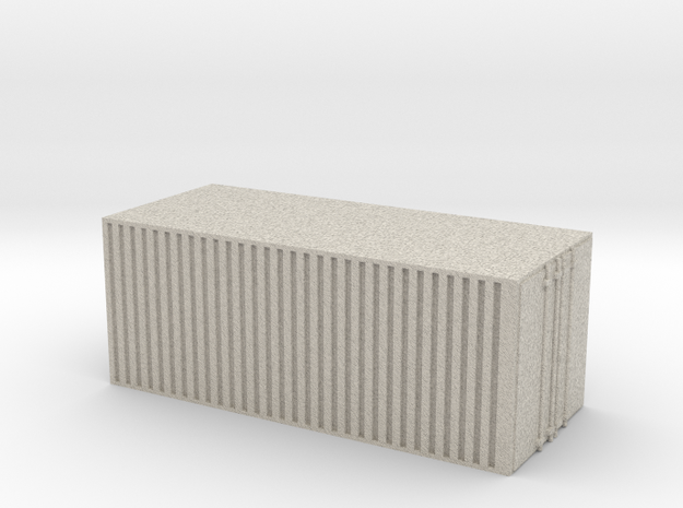 28mm simple cargo container hollow 3d printed