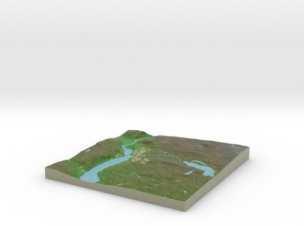Terrafab generated model Wed Jan 22 2014 00:14:11 3d printed
