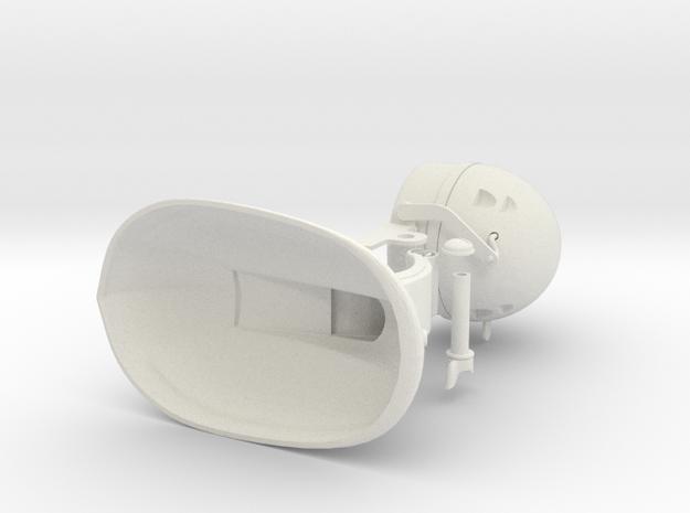 Desk Fan 70mm Body 3d printed