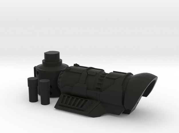 Frag Cannon 3d printed