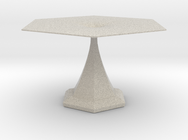 Small side table 3 in Natural Sandstone
