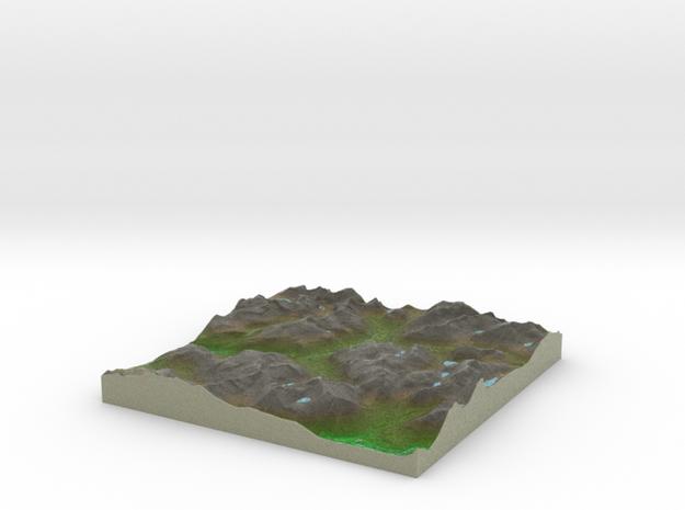 Terrafab generated model Thu Jan 23 2014 13:35:05 3d printed