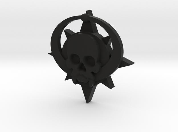 Skull symbol (small) 3d printed