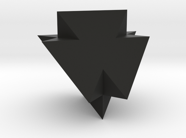 A Peculiar Polyhedron in Black Natural Versatile Plastic