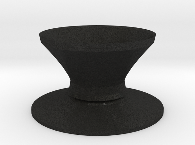 Top hat vase 3d printed