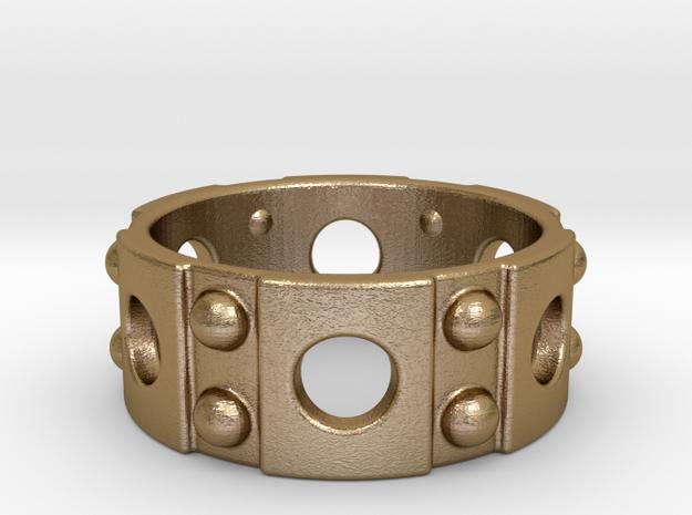 Punk Ring 3d printed