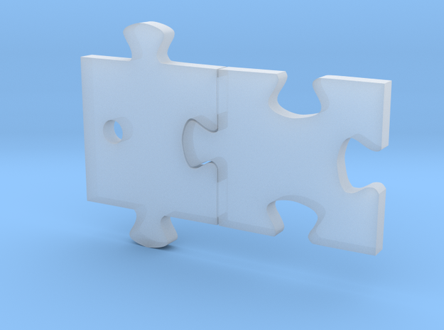 Puzzled! Pieces Charm (Small) 3d printed
