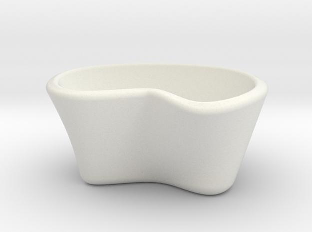 kuppi in White Natural Versatile Plastic