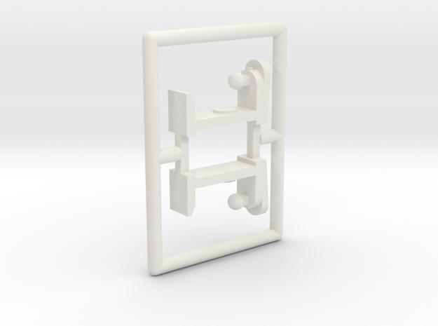 """Spiel - game """"Boxautomaten"""" 1:220 (z scale) in White Natural Versatile Plastic"""
