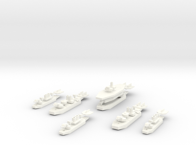 Chilean Carrier Battle Group 3d printed