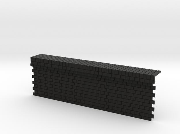 7mm English Bond Brick Station Platform Facing Sec 3d printed