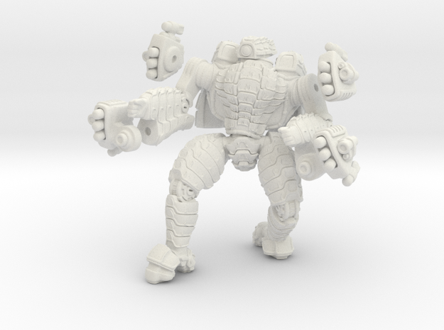 Mech suit with missile pods (12) 3d printed