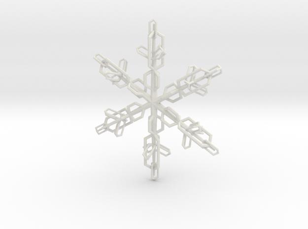 Snowflake X-Mas 2011 3d printed