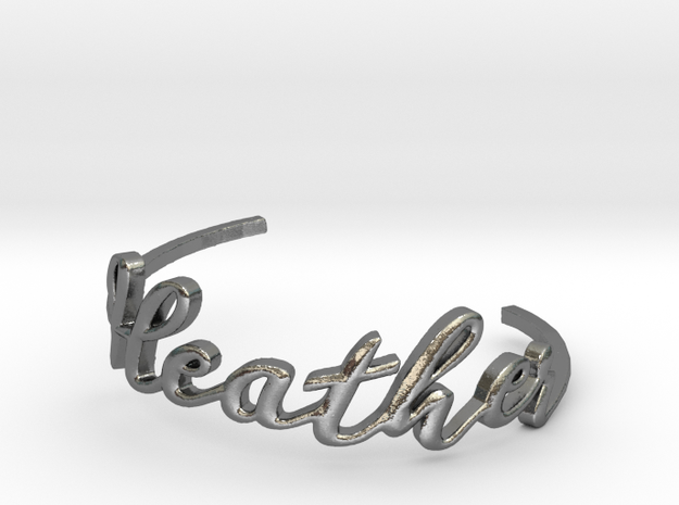 Heather Bracelet in Polished Silver