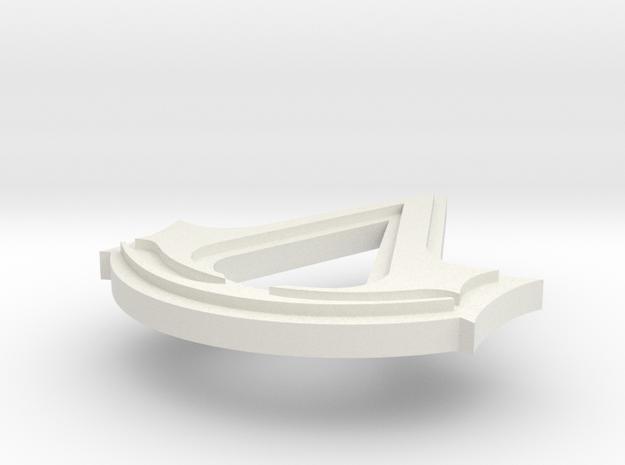 AC: Creed Pendant 3d printed