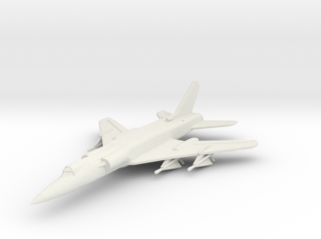 Tu-28 1:285 (6mm) x1 in White Strong & Flexible