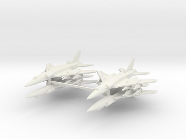Tu-28 1:600 x4 (WSF) in White Natural Versatile Plastic