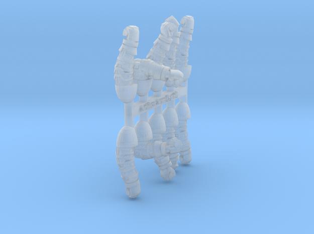 Artificer Arm Sprue 2 in Smooth Fine Detail Plastic