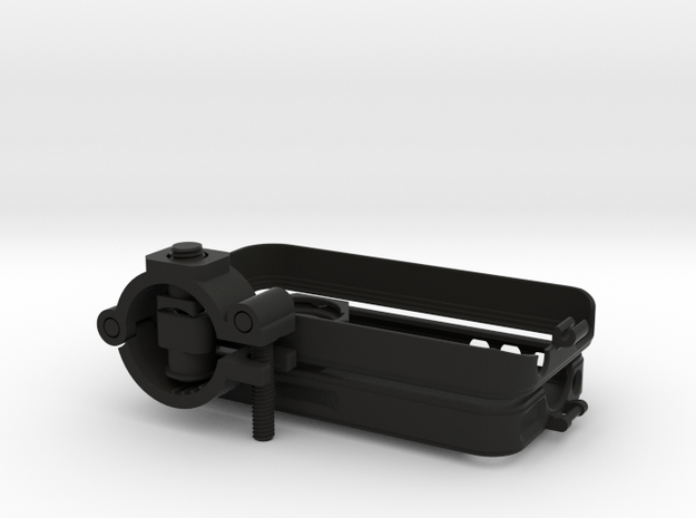 """iPhone 4 bike mount assembly 1 1/4"""" 3d printed"""