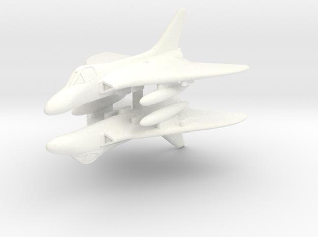 1/300 Douglas Skyray in White Processed Versatile Plastic