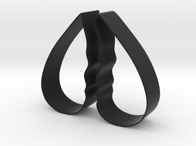 Cookie Cutter - Broken Heart/Talking Head Design 3d printed