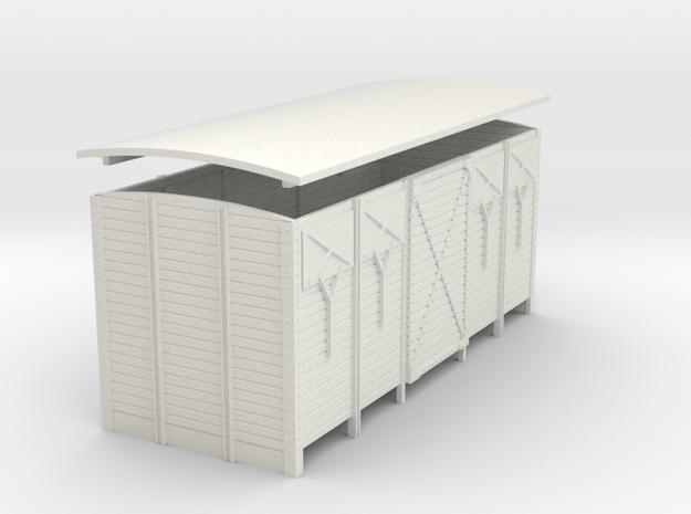 1:55 scale Van closed vents 3d printed