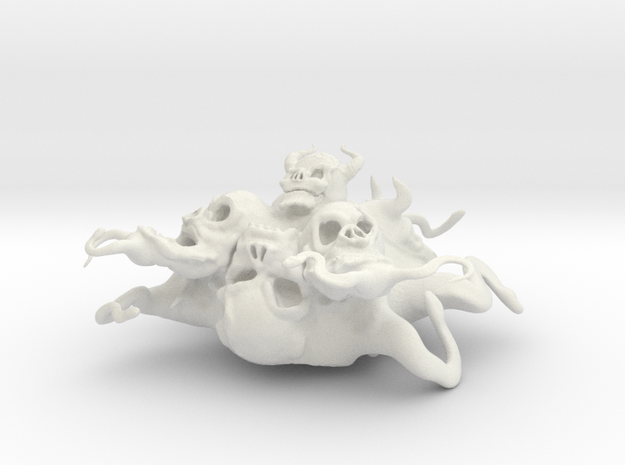 abomination scaled in White Natural Versatile Plastic