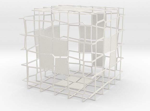 VoronoiTest in White Natural Versatile Plastic