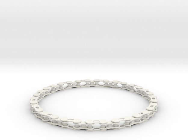 bike chain necklace 3d printed