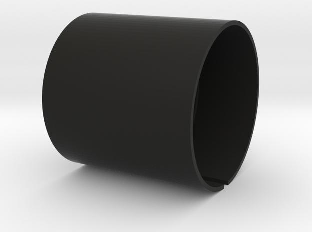 LED Holder 2 Knobs in Black Natural Versatile Plastic
