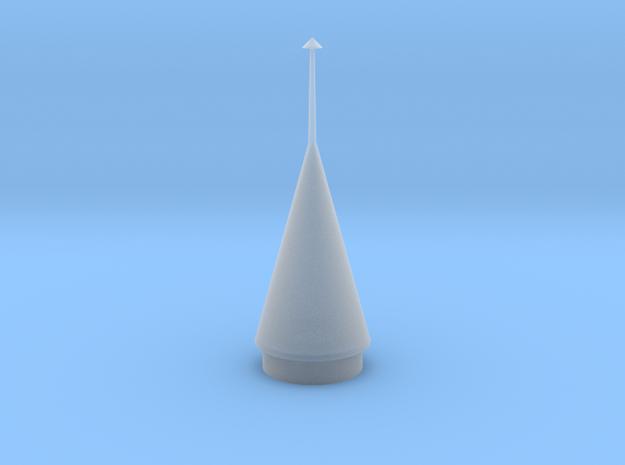 Juno II Rocket Fairing 1:48 3d printed